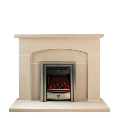 Arch - an Edwardian influenced stone fireplace by Warmsworth Stone Fireplaces
