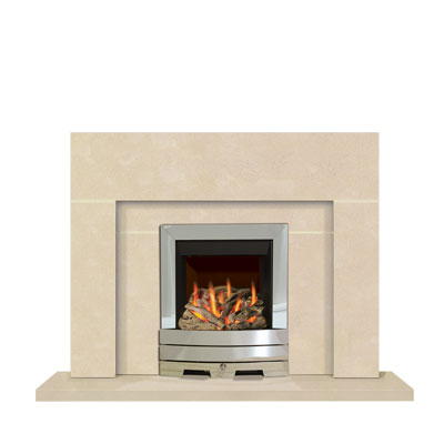 Block - an Edwardian influenced stone fireplace by Warmsworth Stone Fireplaces